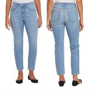Ella Moss High Rise Straight Fit Mom Jeans 8 29W